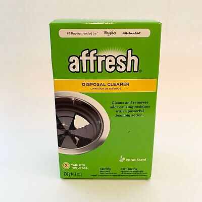 NEW NIP Affresh Garbage Disposal Cleaner Citrus Scent  Removes Residue