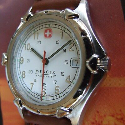Men AweSoMe WENGER Swiss Army SAK Design Standard Issue+NEW Band~BEST MODEL