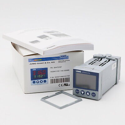 Jumo dTron 316 Kompaktregler mit Programmierfunktion 703041/181-140-25/000