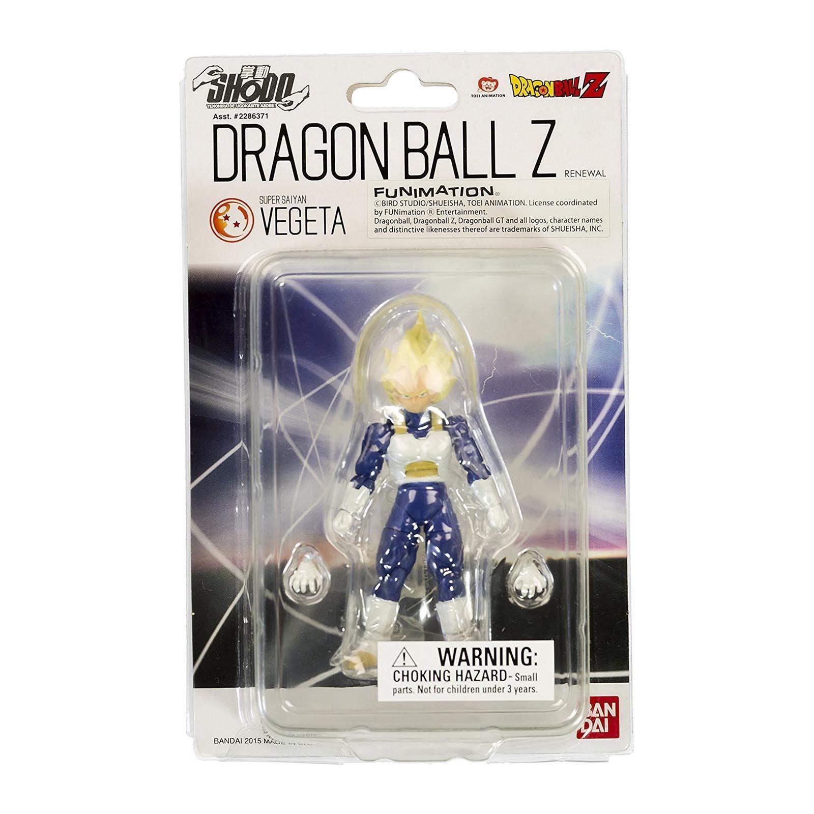Bandai Shodo Renewal Dragon Ball Z Action Figure DBZ  Super Saiyan Vegeta