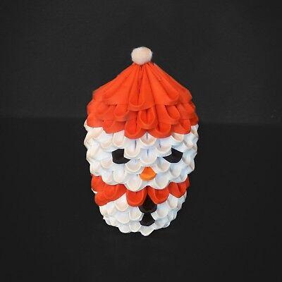 3D Origami Snowman - Ready Built