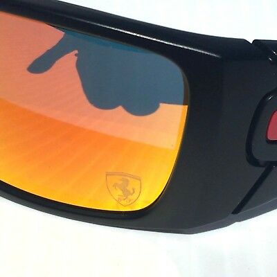 New* OAKLEY FUEL CELL FERRARI BLACK w Ruby Iridium Lens Sunglass oo9096 segunda mano  Embacar hacia Mexico