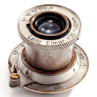Leica M39 3,5/50mm Elmar nickel SHP 47850