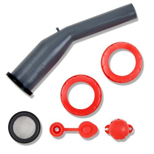 CM Concepts Universal Old-Style Gas Can Replacement Tough & Rigid Spout Kit