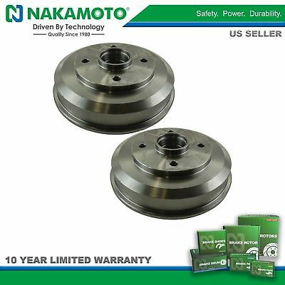 Nakamoto Rear Brake Drum /& Shoe Kit for 00-08 Ford Focus