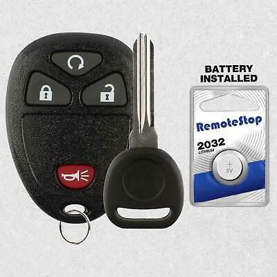 For 2010 2011 2012 2013 Chevrolet Silverado 1500 2500 3500 Car Remote Fob + Key