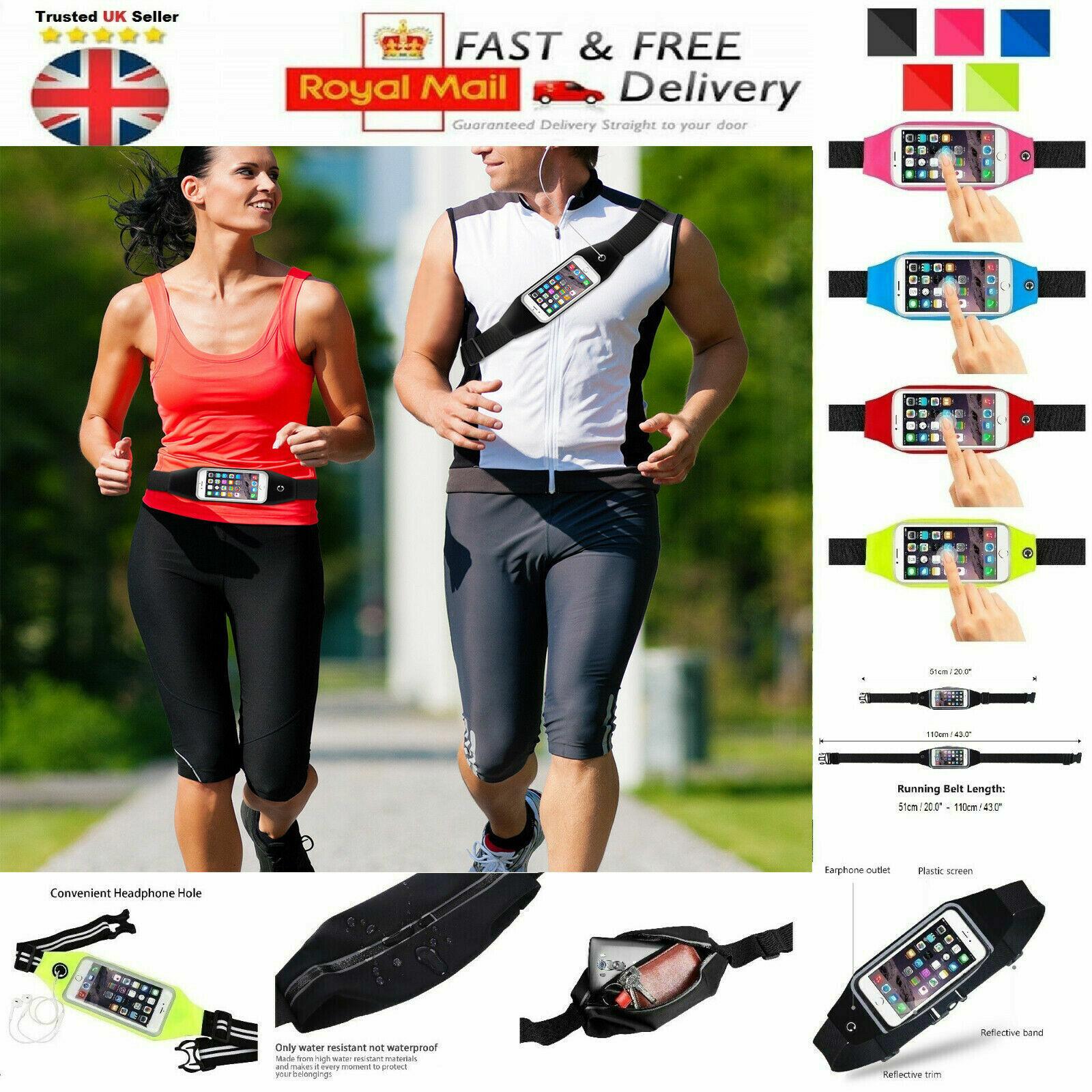 Apple Gym Running Jogging Sports Waist Holder For Various iP