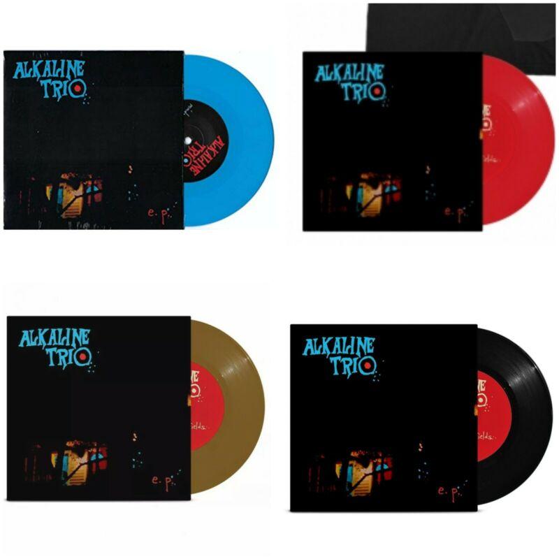 """Alkaline Trio EP 7"""" Vinyl All 4 Variants New Matt Skiba blink 182 St Pauli"""