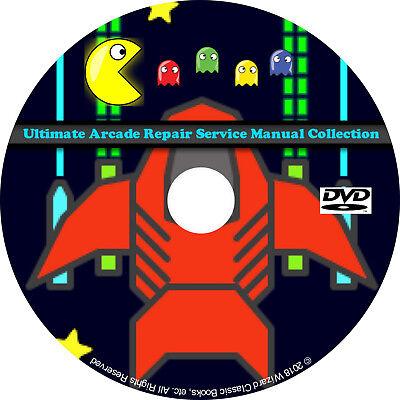 cc8795982 Ultimate Arcade Repair Service Manual Collection DVD Schematics DIP pdf CD