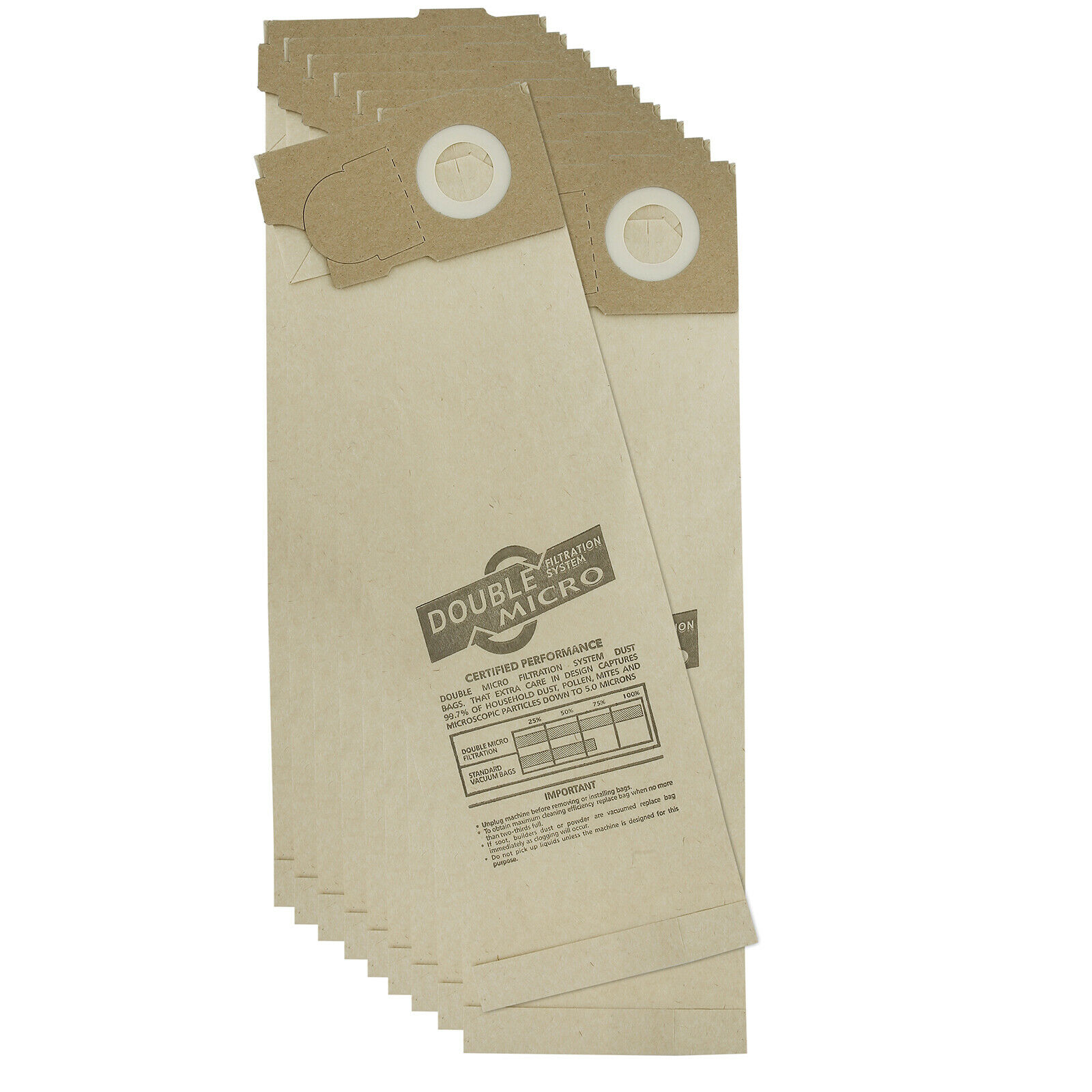 20 x sacs aspirateur pour sebo BS36 BS46 C46 hoover uk