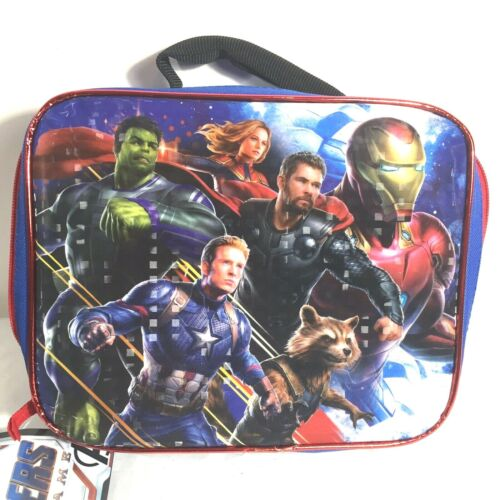 Marvel Avengers Endgame Lunch Bag Back to School NEW With Tag