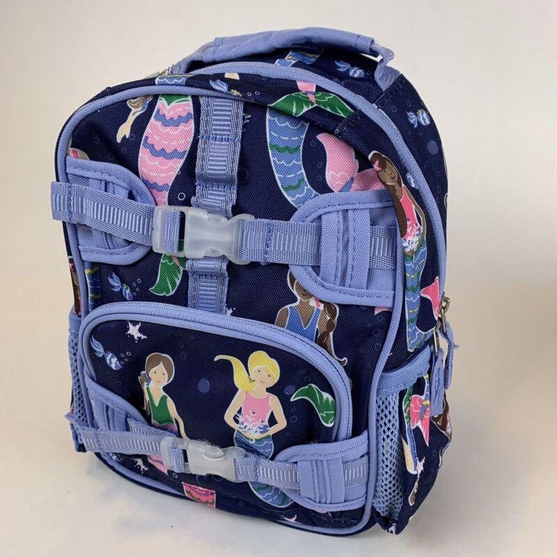 Pottery Barn Kids Mermaid Blue Mackenzie Mini PreK Backpack New w Tags Valentine