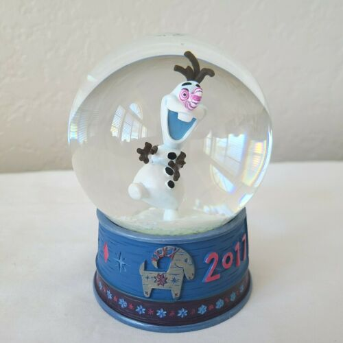 Olaf Disney Snow Globe Frozen Adventure Exclusive See Video in Listing