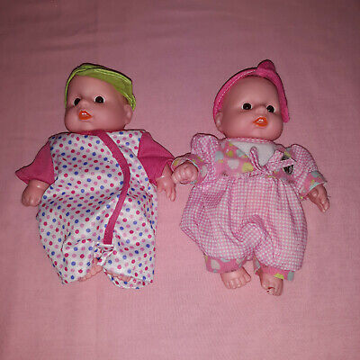 "Baby First Pair Of Plastic Small Baby Dolls Kids Children Girls Toddler Toy 8"" for sale  Shipping to South Africa"