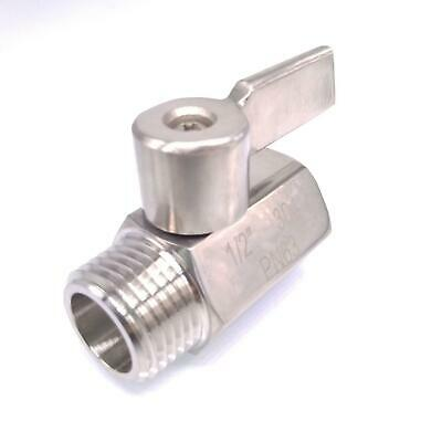"""8Pcs Carpet Cleaning 1//4 /"""" Brass Ball Shut-Off Valve Water Oil and Heating valve"""