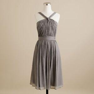 JCrew Sinclair Dress - Size 10 - Graphite