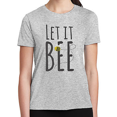 Let it Bee T-Shirt Buzzing Summer Bees Perfect Summer Tee 2086](Bee Buzzing)