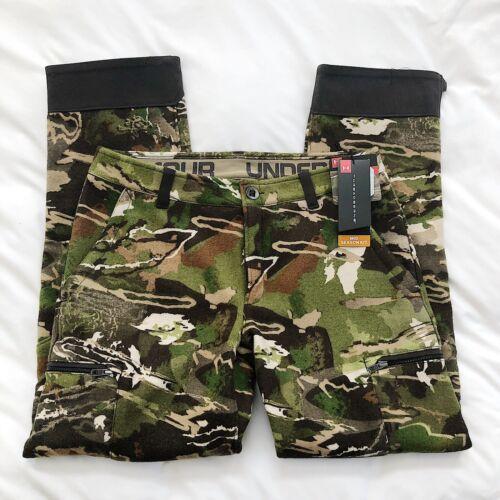 NWT Under Armour Women's UA Mid Season Kit Wool Camo Pants