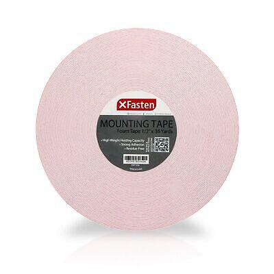 Xfasten Foam Mounting Tape 12-inch X 36 Yards