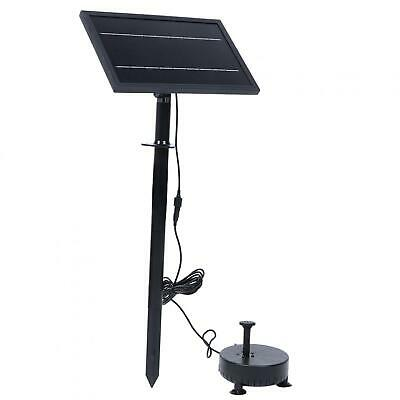 9V 8W Remote Control Floating Solar Fountain Pump With Light For Household