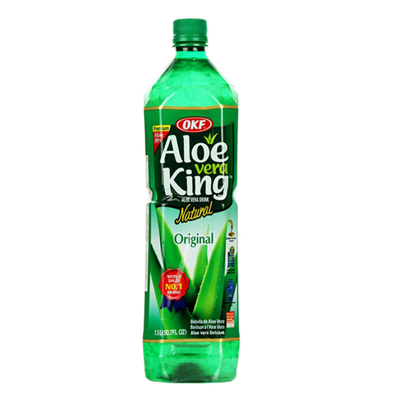 OKF Aloe Vera King Original 12 x 1,5L Aloe Vera Getränk Drink - OKF 18 Liter NEU
