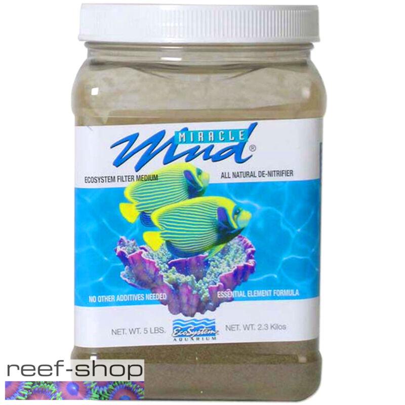 EcoSystem Miracle Mud 5 lb Jar Aquarium Refugium Substrate Free USA Shipping