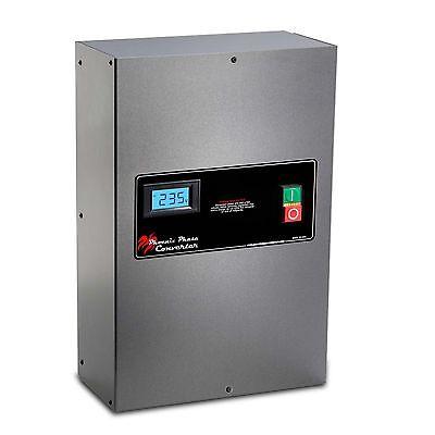Rotary Phase Converter Panel - 20 Hp - Cnc Grade Industrial Grade Pc20plvpo