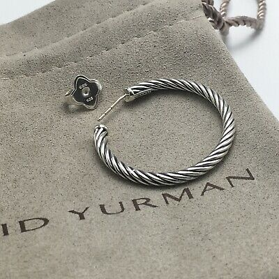 David Yurman Cablespira Earrings