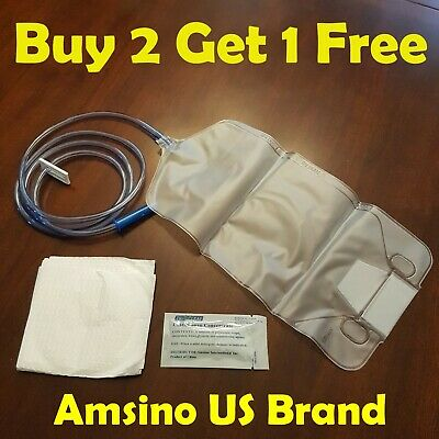 Amsino Cleansing Enema Bag Set Kit w/ Castile Soap 1500mL US Brand Exp 5/21  ()