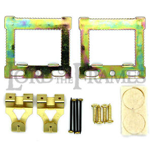 CANVAS / FLOATER / BOX FRAME PICTURE HANGING KIT CWH HANGERS + ALL FIXINGS