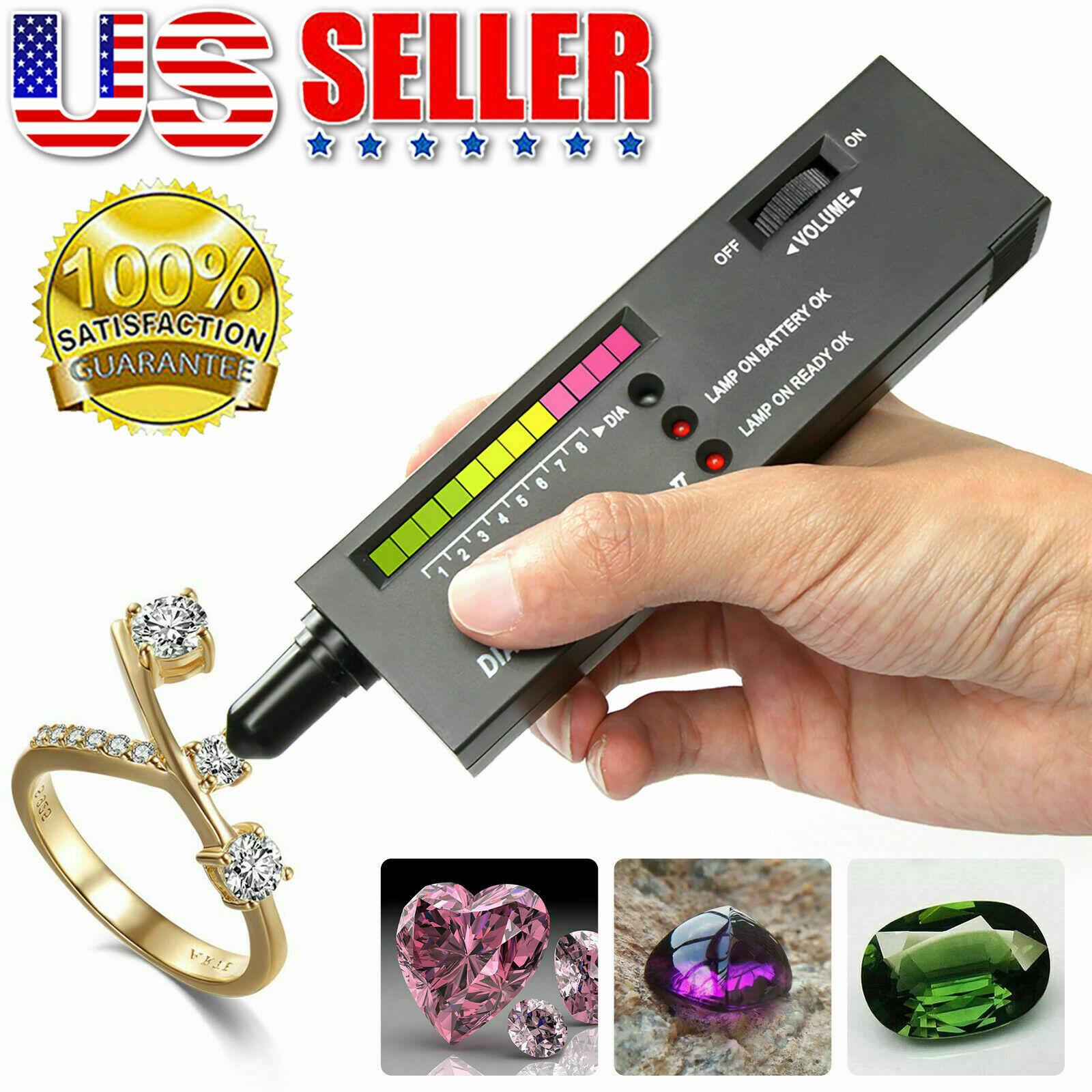 High Accuracy Professional Diamond Tester Gemstone Selector ll Jeweler Tool Kit Jewelry & Watches