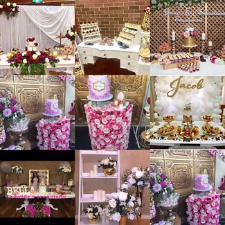 Floral wedding decorations props hire party hire gumtree props for hire junglespirit Choice Image