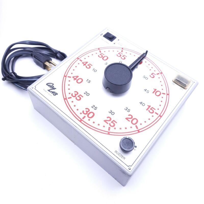 Gralab Model 171 60-Minute General Purpose Timer, 120VAC 60Hz, 1sec Minimum
