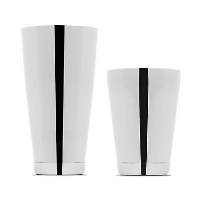Cocktail Boston Shaker Set By Kotai (Weighted) (Silver)