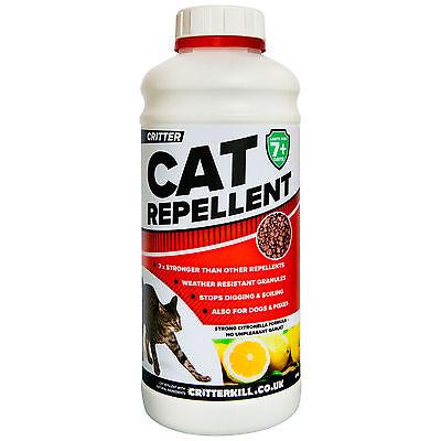 CRITTER CAT AND DOG REPELLENT GET OFF REPELLER PROFESSIONAL STRENGTH RAIN RESIST