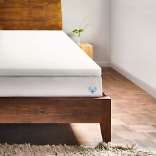 """2"""" Memory Foam Mattress Topper & Bed Pad by PharMeDoc - All Sizes Available"""