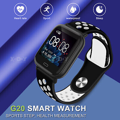 XGODY Smart Watch Heart Rate Blood Oxygen Pressure Monitor For iPhone Android
