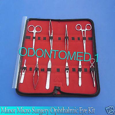 11 Pc Eye O.r Grade Micro Minor Surgery Ophthalmic Instrument Set Kit