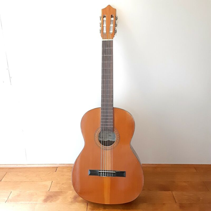 Vintage 70s Classical Acoustical Guitar La Espanola Made in Spain