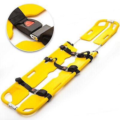 Emt Scoop Stretcher Aluminum Medical Stretcher Detachable Foldable Ergonomic
