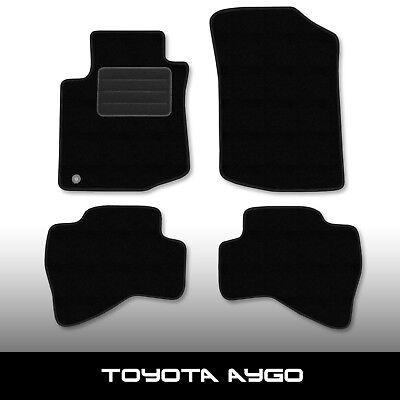 2002-2014 Fußmatte Tuning Velours schwarz NEU Fahrermatte Toyota Corolla 7