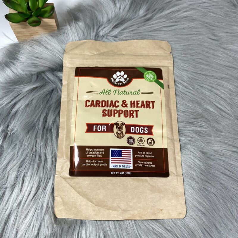 Herbs For Paws All Natural Cardiac And Heart Support For Dogs