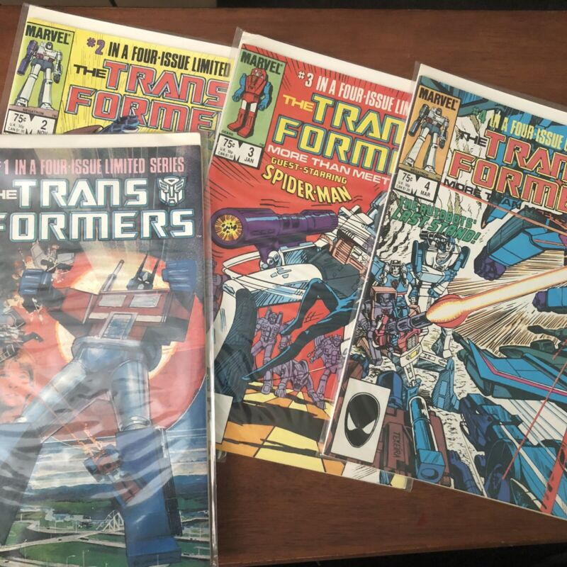 Huge Transformers Comics Lot (80s, 90s, 2000s)