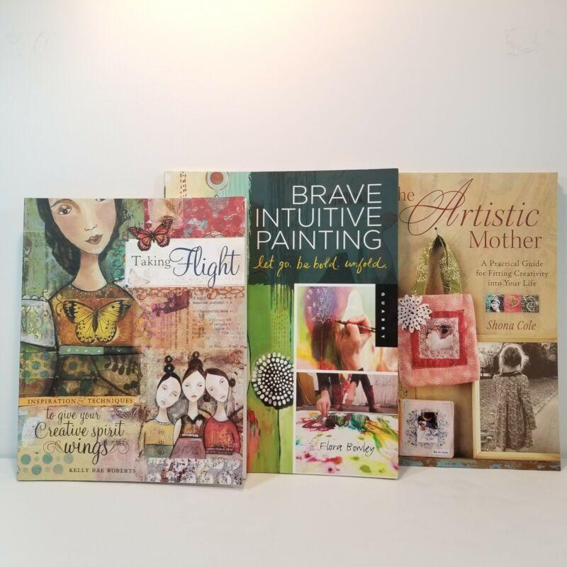Art Journal Technique Books Taking Flight Kelly Rae Roberts Painting Creativity
