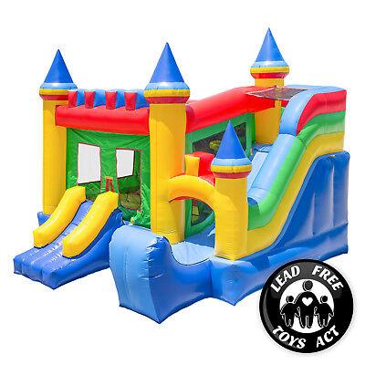 Commercial Bounce House 100% PVC Castle Kingdom Jumper Slide Inflatable Only](Inflatable Castle)
