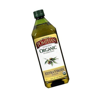 Pompeian USDA Organic Extra Virgin Olive Oil, First Cold Pressed, 32 fl oz