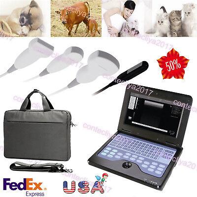 Usvet Veterinary Portable Ultrasound Scanner Machine2 Probescowhorsedogcat