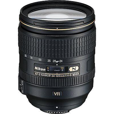 Nikon 24-120mm f/4G ED VR AF-S NIKKOR Lens  For Nikon DSLR  *BRAND NEW*