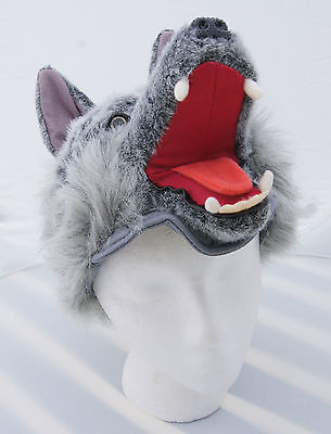 BIG BAD WOLF HAT little red riding hood halloween costume theater theatre play](Bad Wolf Costume)