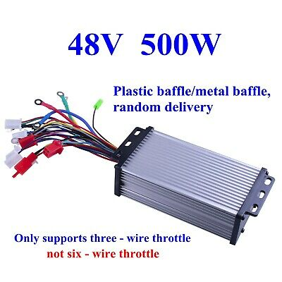 48v 500w Electric Bicycle E-bike Scooter Brushless Dc Motor Speed Controller